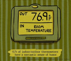 Passive Room Thermometers Wall Mounted