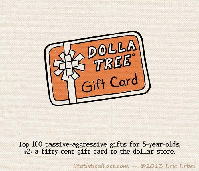 dollar tree gift card orange
