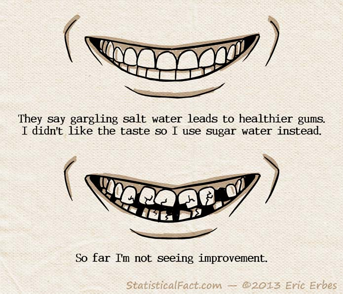 close-up smile good teeth bad teeth
